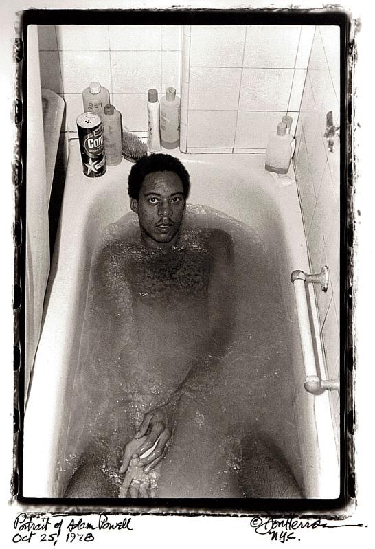 Adam Powell bathtub 1978