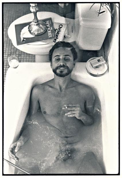 Felice Picano bathtub 1980