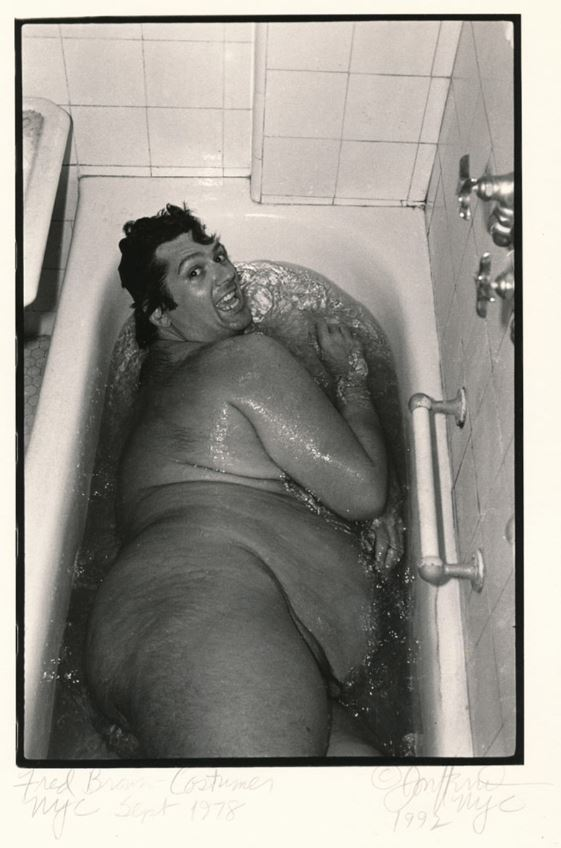 Fred Brown tub 1978