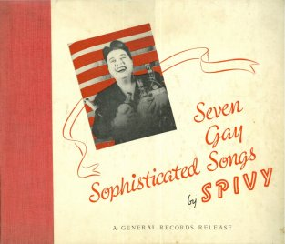 Spivy 7 gay LP copy
