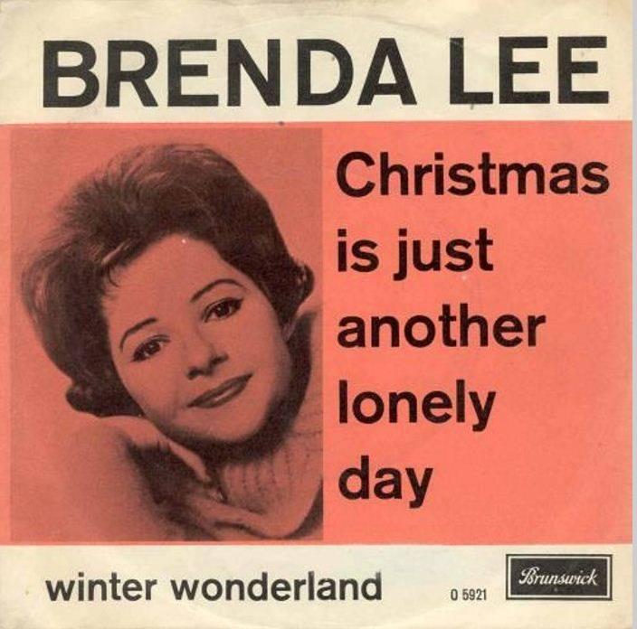 Brenda Lee xmas45