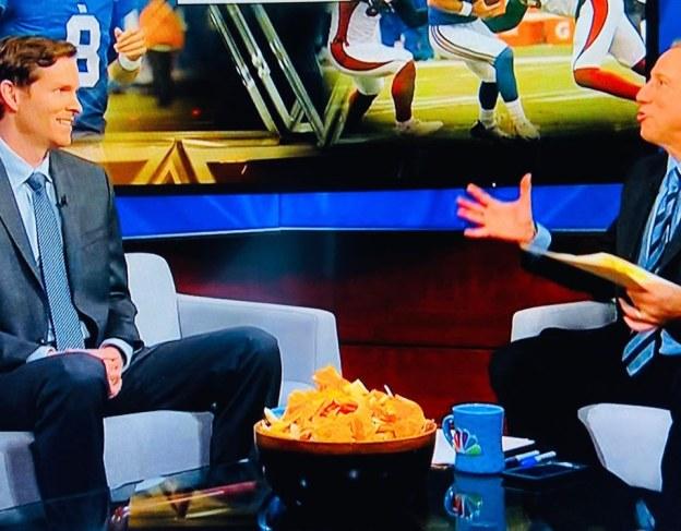 NBC Sunday Sports Night Snacks 10_20_19 A radiant bowl of fresh Nacho Doritos